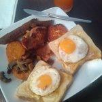 Cooked breakfast - very nice