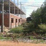 building site opposite hotel dec 2012