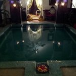 The beautiful plunge pool