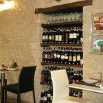 Einer der beiden Restauranträume vom Hotel Oro Rosso
