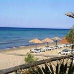 Ionion beach near to the villa