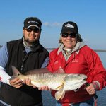 You can't beat winter fishing in the lowcountry of SC!