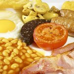 Full English @ Melrose, Whitley Bay