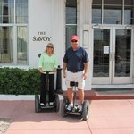 Our Segway Tour took us by our Hotel