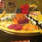 Plateau de sushis...