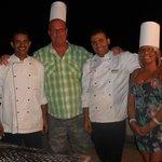 chefs on BBQ night