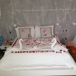 Honeymoon-Decoration :) Thank you so much. Just beautiful