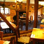 Plough's restaurant area, seating  up to 56 guests