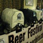 Bi-annual beer festivals held every Easter weekend and in September