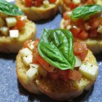 Scrumptious, fresh bruschetta