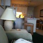 In living room looking toward kitchen
