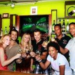 Saona Café's staff!