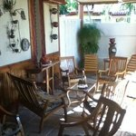Patio - nice shaded area to enjoy the outdoors