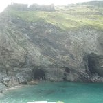 King Arthur's possible birthplace, Tintagel, Cornwall