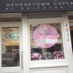 Georgetown cupcake entrance