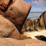 La digue côté plage