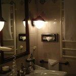 bathroom well equiped