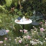 gouter au jardin