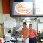 Chef John (Jong Eum Bae) and his wife Me Sook