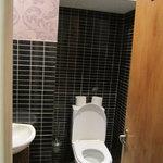 WC, do tamanho de um WC de avião