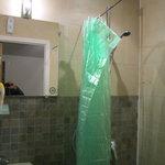 cabine de duche, pequena.