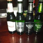 A fine selection of Royal ale