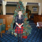 Mountains & Mistletoe in reception at Loch Achray