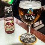 A glass of Leffe Blonde