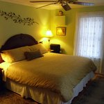 Apple Blossom room,  king size bed