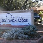 Entering Sky Ranch Lodge