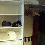 Great, roomy closet!