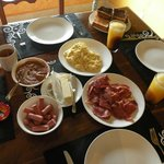 Our own home cooked breakfast.