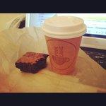Takeaway Coffee & a Brownie!