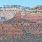 The Red Rocks of Sedona-as Viewed from Our Room