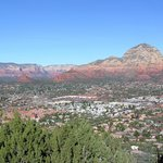 Another Gorgeous View from Our Room of Downtown Sedona