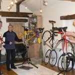 Strip and Build Bike Days a Quirky Workshop at Greystoke Cycle Cafe, northern Lakes