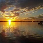 Garret's photo of the sunset from D'jons