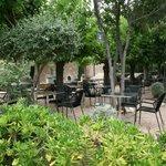 Terraza-jardín del Restaurante