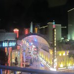 View of Fremont Street from our first room. Loved it!