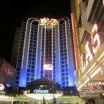View of hotel from Fremont St.
