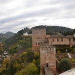 el recinto de la alhambra donde se encuentra el parador
