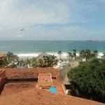 Vista de la playa desde la habitación 1202
