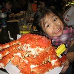 4.5 pounds of Alaskan King Crab