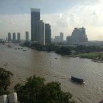 View from the Junior Suite, 4th floor, Royal Orchid, Bangkok