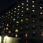 the hotel night shot