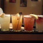 House Infused Tequilas..delicious rainbow margaritas