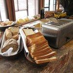 breakfast, bread here is amazing