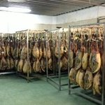 Hams in factory