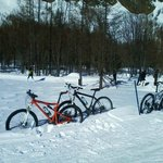 Snow Bike in Val Ferret
