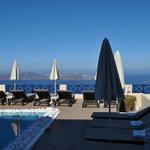 Fantastisk pool och relax.